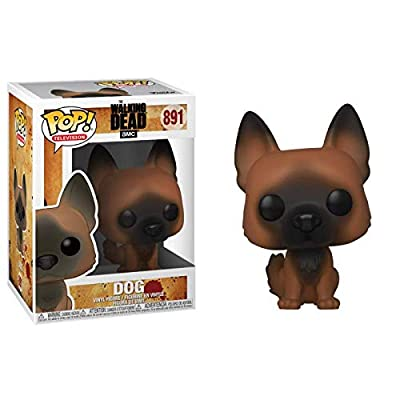 Funko Pop! TV: The Walking Dead - Dog: Toys & Games