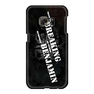 Great Hard Phone Cases For Samsung Galaxy S6 (MPi147AlCF) Allow Personal Design Colorful Breaking Benjamin Band Skin