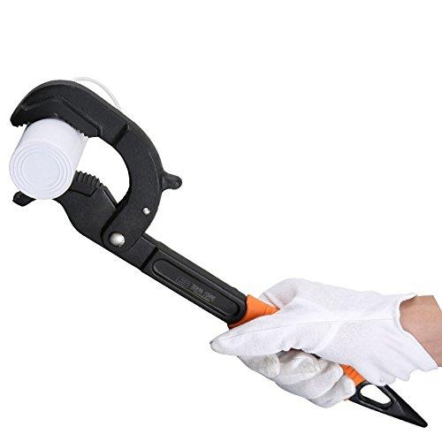 Adjustable Wrench, Industrial Grade Auto Lock Universal Wrench Water Pipe Wrench Universal Tool Size 11 in Freelink