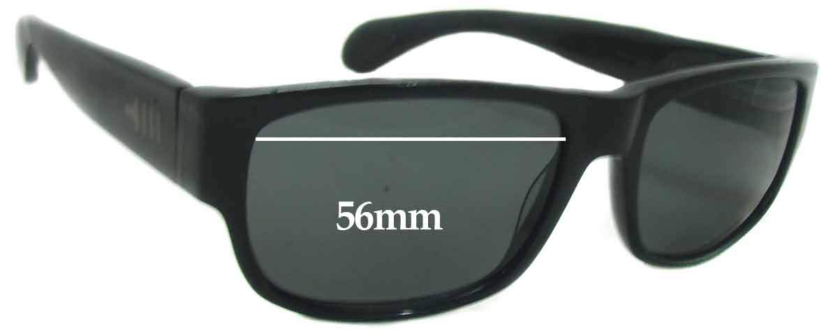 SFX Replacement Sunglass Lenses fits Mosley Tribes Delroy 56mm Wide