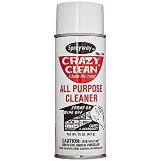 Sprayway SW030 Crazy Clean All Purpose Cleaner, 15 oz