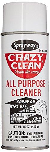 Sprayway SW030 Crazy Clean All Purpose Cleaner, 15 oz -  SW031