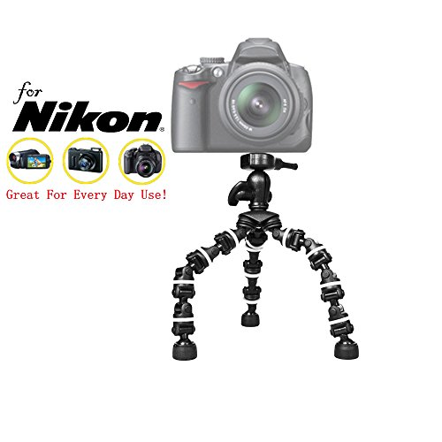 "Pro 13"" Heavy Duty Flexipod for Nikon 1 V1, 1 V2, ..."