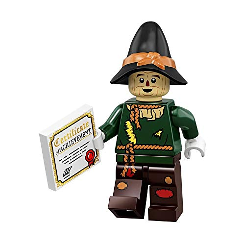 LEGO The Movie 2 Wizard of OZ Collectible Minifigure - Scarecrow (Sealed Pack)]()