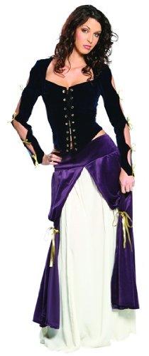 CINEMA SECRETS Womens Adult Costume Renaissance Musketeer Outfit Womens U.S. XL ()