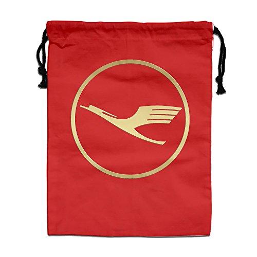 large-rectangular-drawstring-bags-40-30-cm-golden-lufthansa-waterproof-polyster-storage-drawstring-p