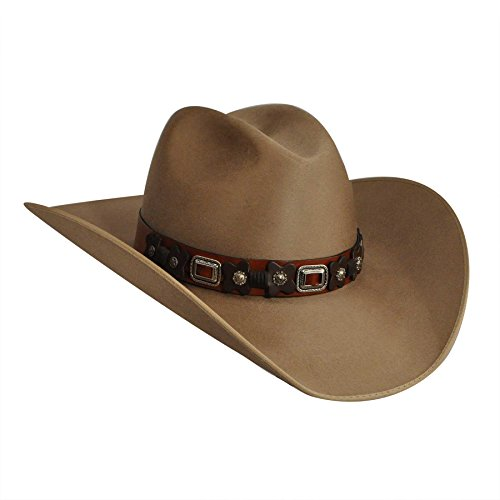 Bailey Western Female Renegade By Bailey Odessa Western Hat Fawn 7 1/2 by Bailey Western
