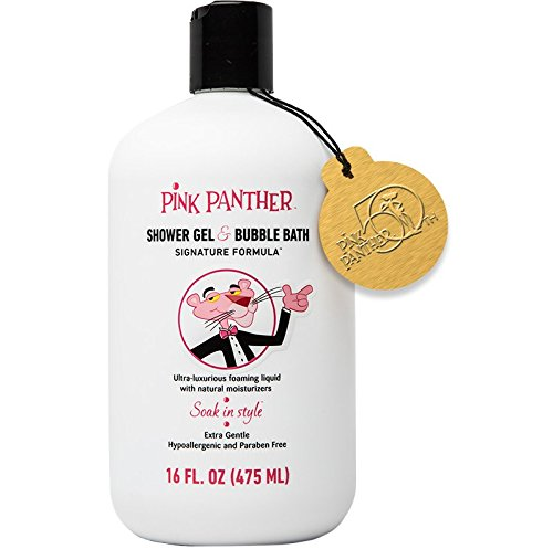 pink-panther-premium-bubble-bath-shower-gel-for-all-ages-luxury-signature-pink-formula-soak-in-style