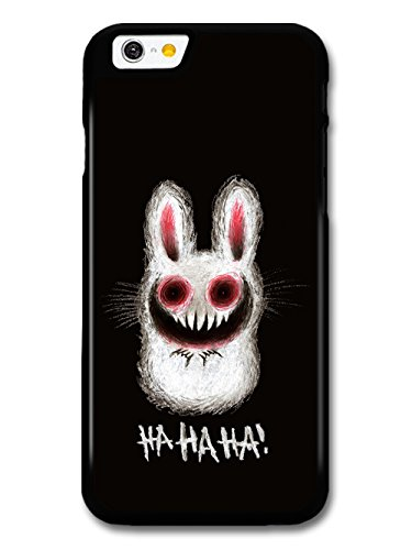 Rabbit Funny Evil Funny Halloween Illustration HAHAHA! coque pour iPhone 6 6S