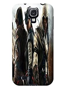 2014 most stylish pattern tpu phone back case cover with texture for Samsung Galaxy s4 of Assassin's Creed in Fashion E-Mall by icecream design