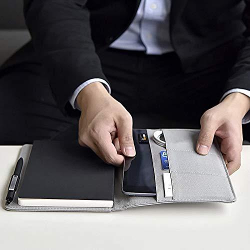 gris  Notebookcuir Portefeuille à voiturete Pour Livre De Bureau Avec Un CadeaugwjbhGWJBHgris