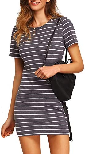 Floerns Womens Causal Striped T Shirt product image