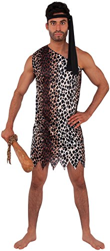 Rubie's Haunted House Collection Caveman Costume, Brown, One Size]()