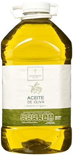 Zaphron Gourmet Aceite de Oliva Extravirgen, 3 L