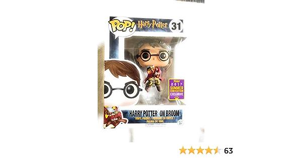 Funko - Figurine Harry Potter - Harry Potter on Broom SDCC ...