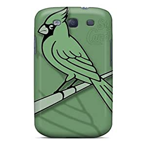 New Galaxy S3 Case Cover Casing(green Cardinals)