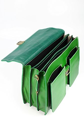 a mano Donna verde Verde Borsa Belli z5qwaa