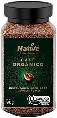 Café Orgânico Solúvel Liofilizado Native 90g
