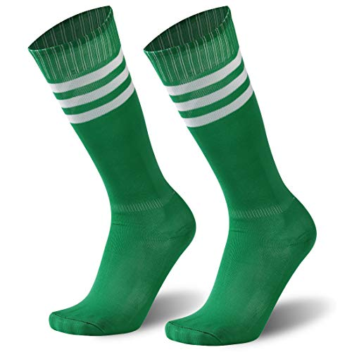 Long Soccer socks, Mens Womens Performance Stretch Elastic