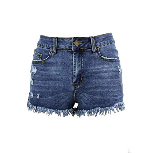 Cotton Casual Regular Button and Zipper Fly Super Hot Shorts,4,M