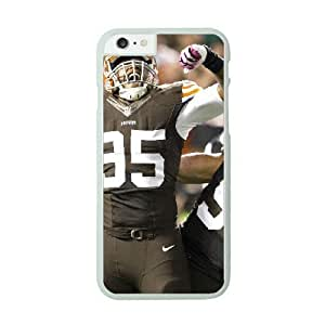NFL Case Cover For SamSung Galaxy Note 3 White Cell Phone Case Cleveland Browns QNXTWKHE1109 NFL Back Design Phone
