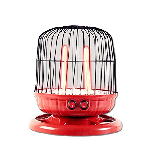 (QTQZ Desktop Heater,Bird cage Mini Small Heater Fan Home Office Electric Space Heater)