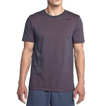 nike herren dri fit cotton kurzarm 2 0 t shirt amazon de sport  nike herren dri fit cotton kurzarm 2 0 t shirt, blau (thunder blue