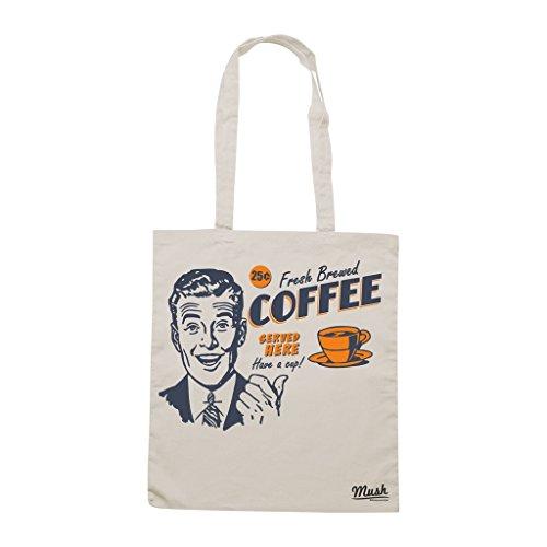 Borsa Fresh Brewed Coffee - Panna - Mush by Mush Dress Your Style