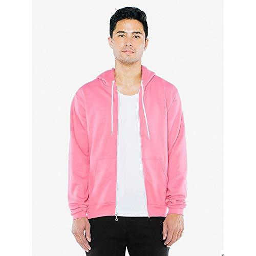 cappuccio Felpa American per uomo con Pink Apparel Candy v6twqPtA