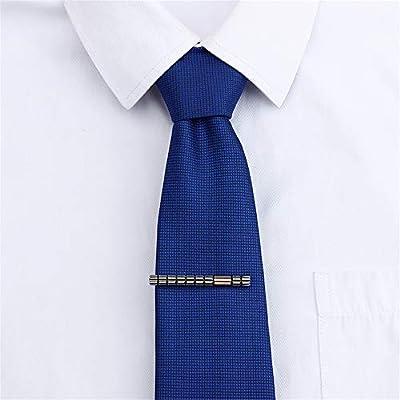 QSRMWNN Clip de Corbata de 2 Pulgadas para Hombres-Estilo novedoso ...