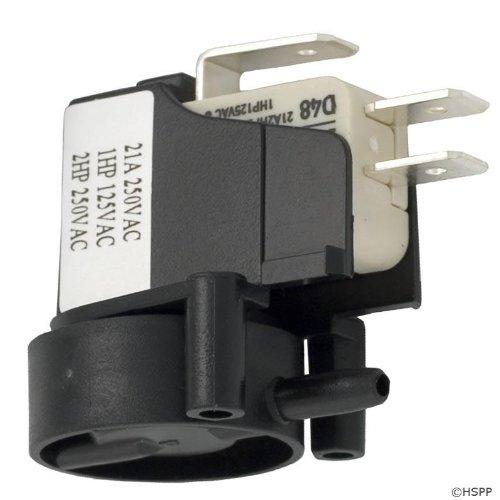 Air Herga (Herga 6871-AOO-U126 SPDT 20A Side Spout Latching Air Switch)