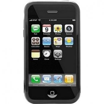 iSkin Solo Case for iPhone 3G/3GS - Black ()