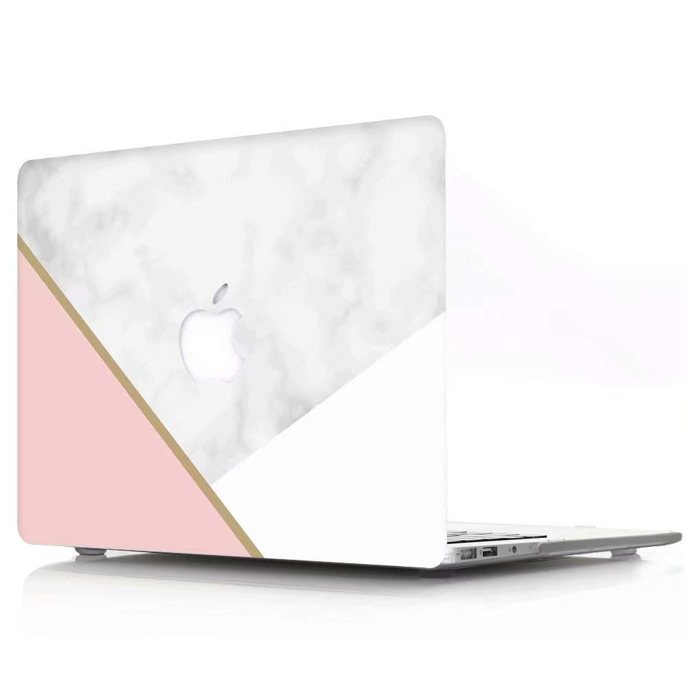 Plastik Matt Gummierte Hartschale Schutzh/ülle DL-56 Wei/ßer /& Rosa Marmor F/ür MacBook Pro 15 Zoll Retina Modell: A1398 AQYLQ MacBook Schutzh/ülle//Hard Case Cover Laptop H/ülle