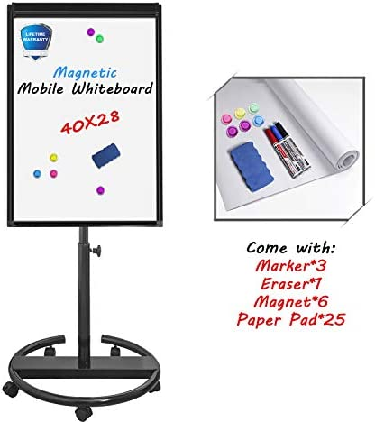 Mobile Whiteboard Standing Easel Magnetic product image