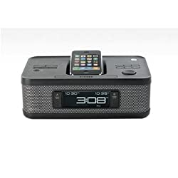 MI4703PBLK-Clock Radio iPod/iPhone Dock