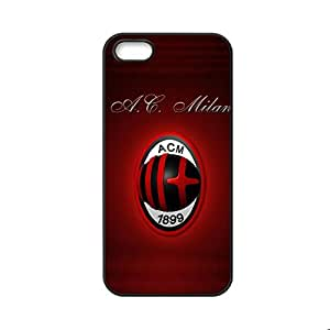 Printing Ac Milan For Apple Iphone 5 Ip5S Nice Back Phone Case For Kids Choose Design 10