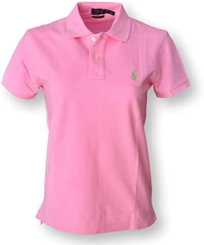 Ralph Lauren Women's Classic Fit Mesh Polo Shirt