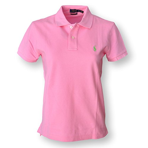 Womens Small Pink Polo Shirt