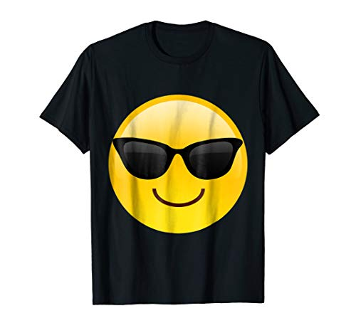 Emoji Shades Smiley Sunglasses Cool T