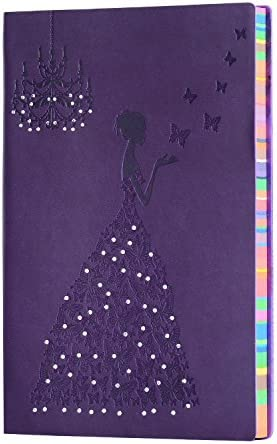 Notebook Butterfly Princess Embossed Sketchbook product image