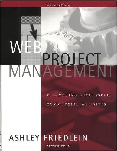 Web Project Management Ashley Friedlein Ebook
