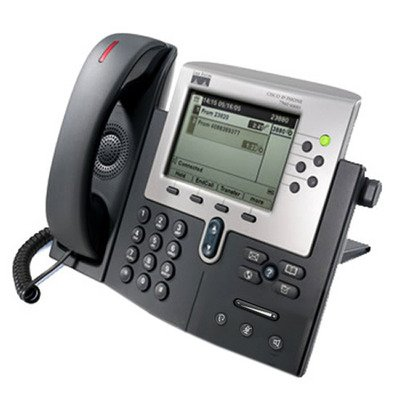 Cisco 7961G-GE Six Line Unified VoIP Phone with Gigabit Ethernet (Cisco 7,961g Ip Telephone)