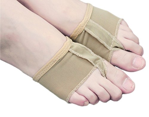 Professionelle Thongs Tanzabnutzung MM Pad Ballett 18 Nude Pfoten Fuß Abdeckung Lyrische Schuhe Toe On5ax
