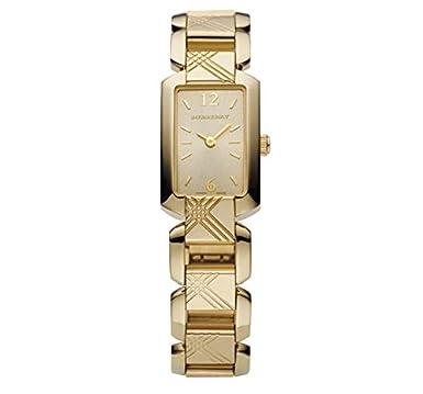 腕時計 バーバリー SALE! Authentic Burberry Heritage LUXURY Gold Womens Square Watch  BU4213 [並行輸入