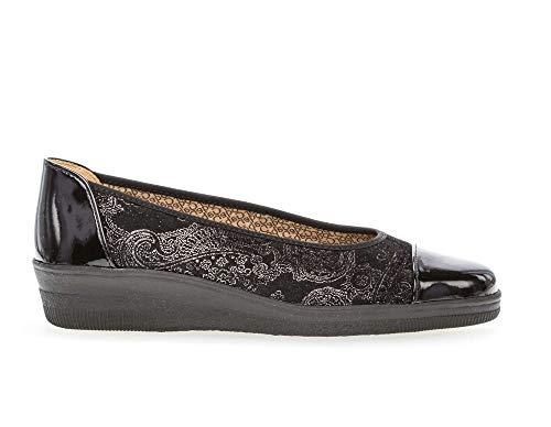 Women's Paisley Gabor Loafers Black Petunia 402 TwXgdgqxn7