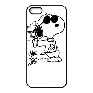 iPhone 5 5s Cell Phone Case Black Snoopy idwd