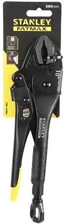 Noir Stanley FMHT0-74888 Verrouillage Mole Plier avec longue 220 mm