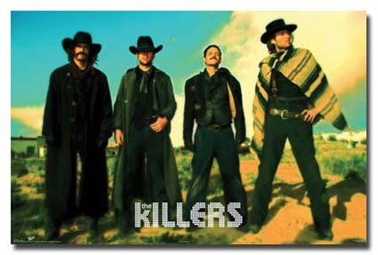 The Killers Poster Amazing Western Group Shot Hot