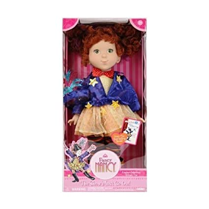 Amazon fancy nancy 18 doll the show must go on toys games fancy nancy 18quot doll quotthe solutioingenieria