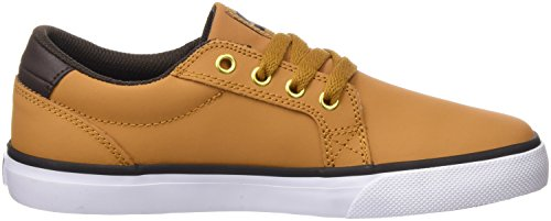 DC Shoes Council - Zapatillas para niños Marrón (Wheat / Dk Chocolate)